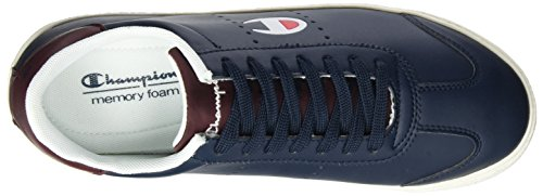 Champion Low Cut Shoe Venice Pu, Scarpe Running Uomo Blu (Nny)
