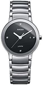 Rado Centrix Jubile Women's 28mm Silver Steel Bracelet & Case Watch R30928713