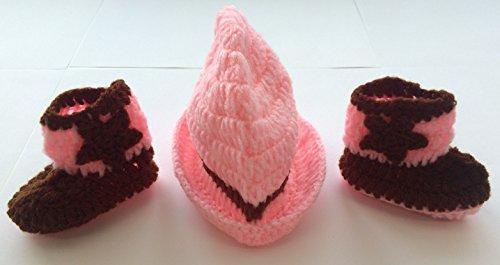 Cowgirl, Newborn Baby Mädchen Boy/crochet Knit Kostüm Foto Fotografie Prop Hüte Outfits