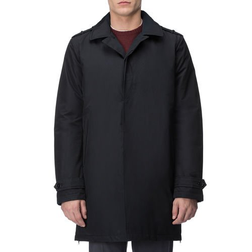 WOOLRICH WOCPS2465 DKN Travel Mac Trench Uomo Trapuntato Interno BLU Navy (3XL, BLU)