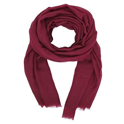 Kashfab Made in Kashmir Collezione di Lana Seta Autunno Inverno 2020-21 Dai unocchiata Strisce Unisex Da donna Uomo Pashmina Scialle Sciarpa