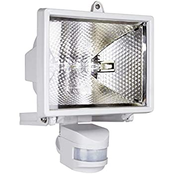 150w Halogen Floodlight Security Light With Motion Pir
