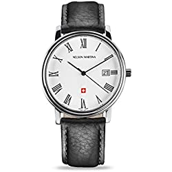 Men's Watch Nelson Martina Classic Silver 305
