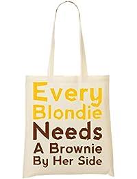 Wicked Design Every Blondie Needs A Brownie By Her Side Bolso De Mano Bolsa De La