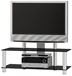 spectral just racks jr110albg plasma and lcd tv stand for up to 42 inch screen tv. Black Bedroom Furniture Sets. Home Design Ideas