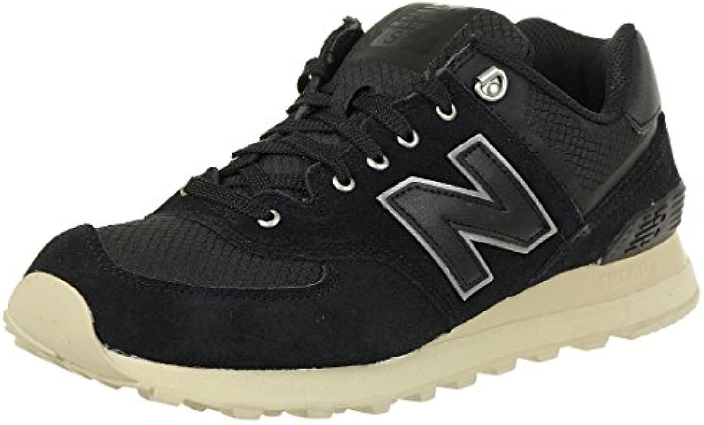 New Balance, Herren Sneaker, Schwarz (Black), 45 EU (10.5 UK)