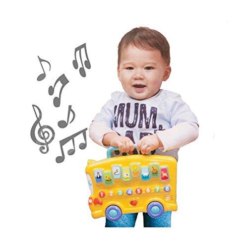 Bus Musical Trainierend–Musik Spiel für Kinder (Musical-bus Spielzeug)
