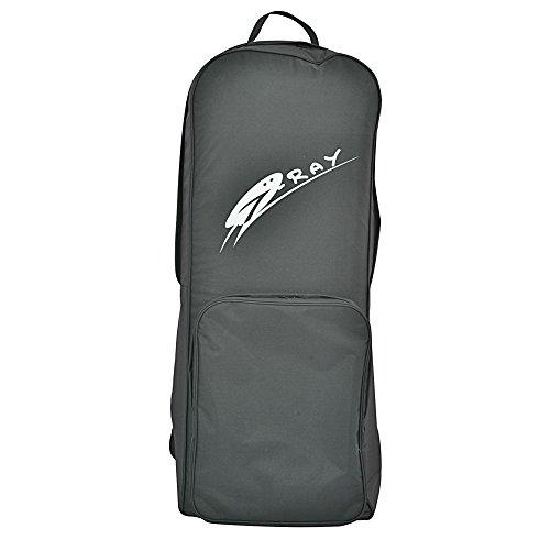 Jilong SUP Backpack mit Fronttasche Rucksack Transporttasche 39x23x97 cm Tasche für Stand Up Paddle Boards inkl. Zubehör