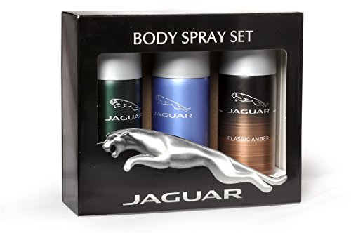 JAGUAR Pack Of 3 (Classic AmberDeo150ml+ClassicDeo150ml+For MenDeo150ml)