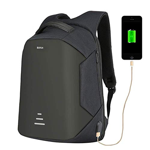 Tbag Antirrobo Mochila Impermeable USB Mochila Seguridad