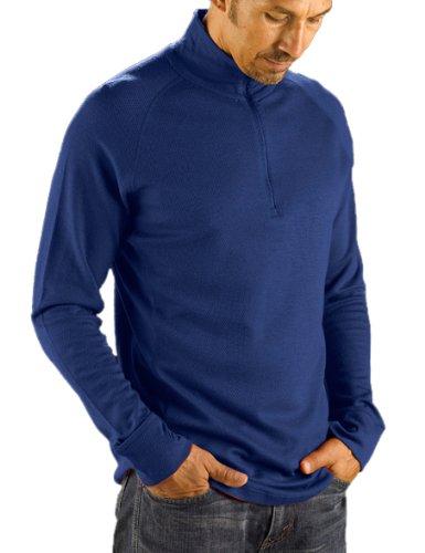 Merino Midweight Zip Top (I/O Merino Herren Midweight Long Sleeve Zip Long Sleeve Shirt, Herren, schwarz)