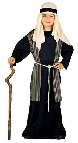 Imagen de guirca  disfraz infantil de san josé pastor, 5 6 años, color negro 42492.0