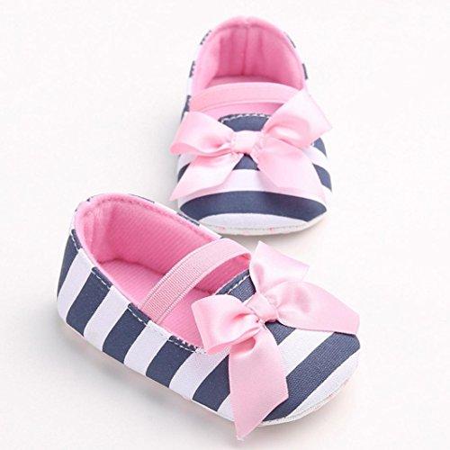 Clode® Niedlich Baby Mädchen Weiche Stoff Schuhe Lässige Schuhe Krabbelschuhe Rosa