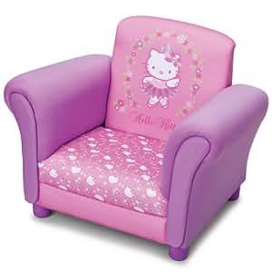 hello kitty pinker sessel f r kinderzimmer kindersessel kinder fernsehsessel k che. Black Bedroom Furniture Sets. Home Design Ideas