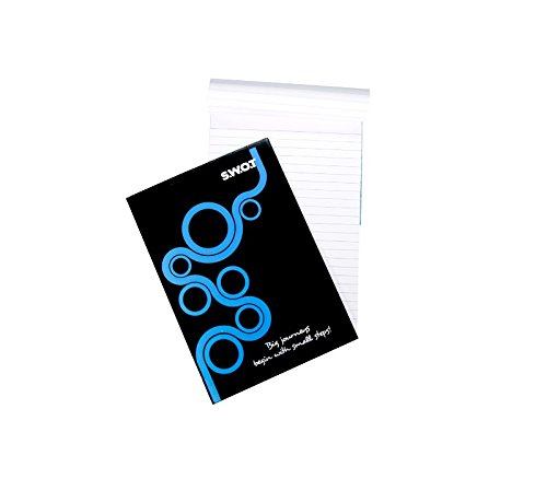 Shrachi S.W.O.T Notepad A5 Single Ruled 18 Pg Pack of 20