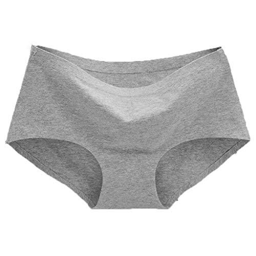 POPLY Damen Panties Unterwäsche Frauen Einteilige Nahtlose Unterwäsche der Art und Weise Einfarbig Mittlere Taille Reizvolle Dame Underwear All Cotton Unterhosen - Toga Kostüm Muster
