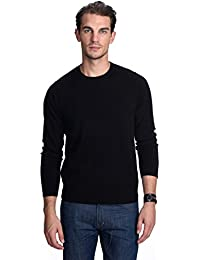 3331ef77193c State Cashmere Pull-Over à Manches Longues et col Rond 100% Pur Cachemire  pour