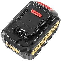 Wafalano Batterie, 20V 5.0A wiederaufladbare Lithium-Ionen-Akku tragbare Ersatzbatterie Ersatzbatterie für Dewalt Elektrowerkzeug