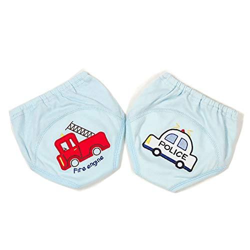 WJY sous-Vêtements Bébé Garçon Pantalon d'apprentissage Garçon Coton Respirant Impression sous-Vêtements À Couches Pantalons À Couches pour Enfants Pantalon D'entraînement,S
