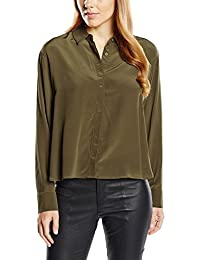 French Connection Damen Regular Fit Bluse Super Silk