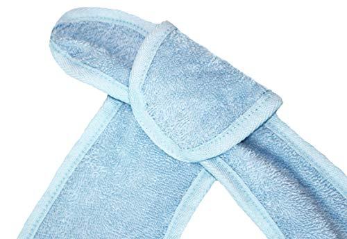 Floringo 4er Pack Lätzchen für Erwachsene mit Öse/Erwachsenen Lätzchen bleu