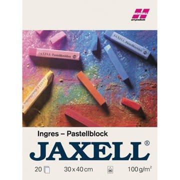 Jaxell Pastellkreidenblock 100g-m² 20Blatt 24x31cm