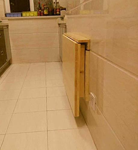 Tavoli Pieghevoli A Muro Per Cucina.Honghuiyu Tavolo Pieghevole A Muro Cucina Pranzo Drop Foglia Tavolo