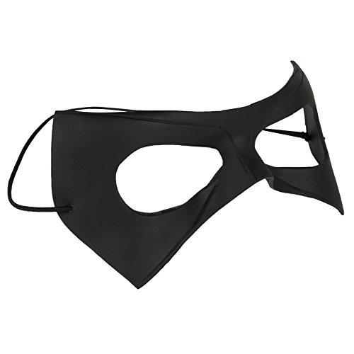 Schwarze Augenmaske