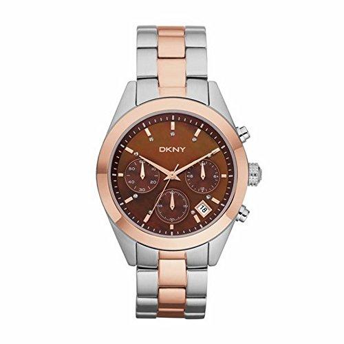Reloj DKNY de Mujer cronógrafo, nácar y Acero Dorado parcialmente Jitney NY8515.