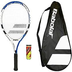 Babolat 105 Raqueta De Tenis + Funda Transporte + 3 Pelotas Tenis