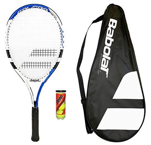 Babolat 105 Tennisschläger + Schlägerhülle + 3 Bälle