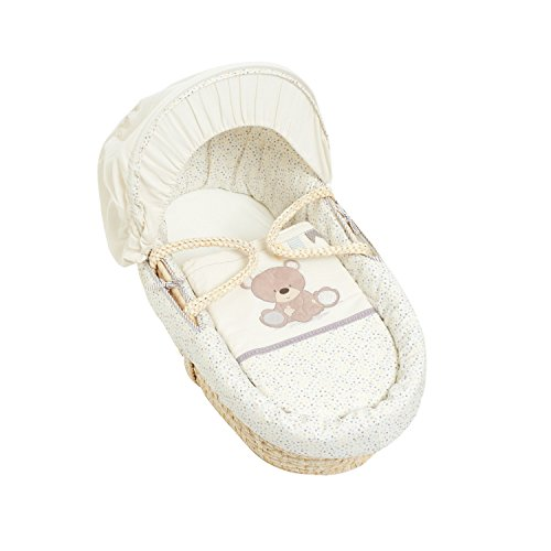 Mothercare Couffin en Osier Ourson Beige