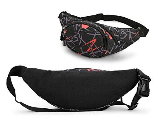 OOFWY Sacchetto di spalla della cassa del sacchetto Tempo libero Sport Uomini E Donne Zaino multifunzionale all'aperto , B B