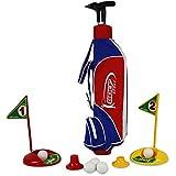 HC-Handel 916240 Golfset mit Tasche 3 Schläger Golfbälle Golf Set Minigolf Golfspiel Spiel 84 x 30 cm