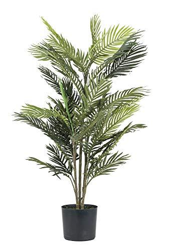 artfleur – künstliche Areca Palme (Goldfruchtpalme) 110cm Grünpflanze Kunstpflanze