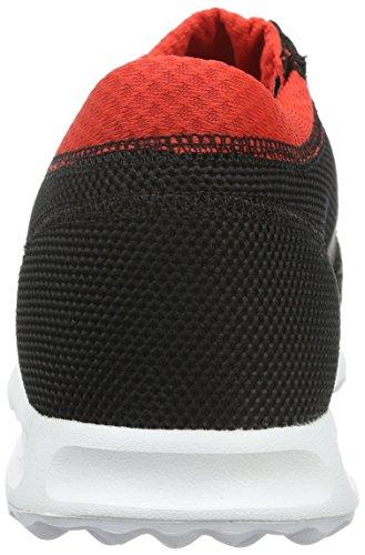 adidas Los Angeles, Baskets Basses Homme, Blau Neon, Taille Unique Noir (Core Black/Dgh Solid Grey/Red)