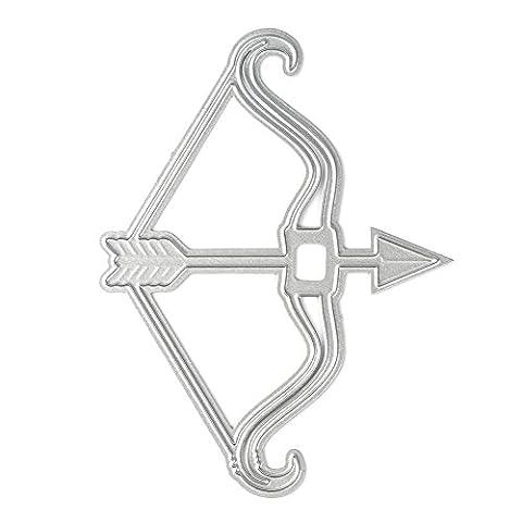 chengya 2017New Arrival DIY Formen Metall Embossing Schablone für Scrapbook Album Karte Papier Craft Pfeil & Bogen