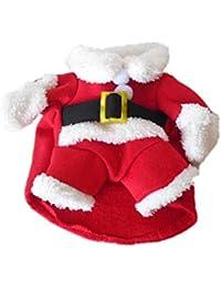 SAMGU Noël Manteau Chiens Pet cat des chapeaux de Noël vêtements