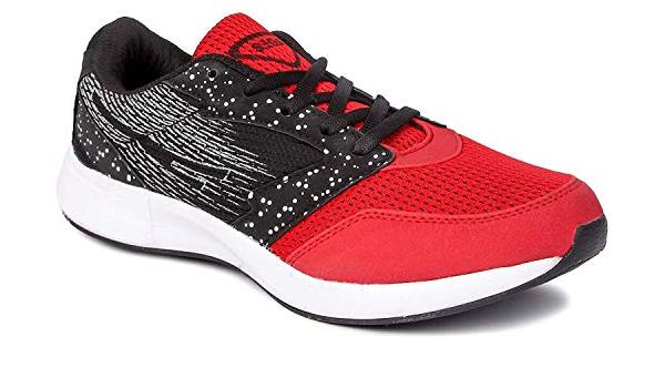 SEGA Men's Red \u0026 Black Running Shoes