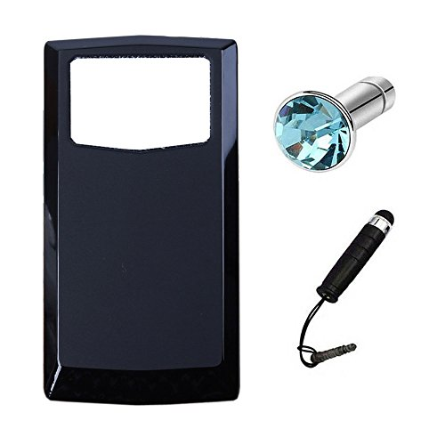Lusee Silikon TPU Hülle für Oukitel K10000 Pro 5.5 Zoll Schutzhülle Case Protektiv Silicone Schwarz