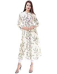 COBIO MAN Straight cotton kurti for women