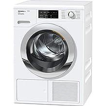 Miele TCJ 680 WP Wärmepumpentrockner mit 9 kg Schontrommel / mit Duftflakon für frisch duftende Wäsche / Wäschetrockner per WLAN mit Smartphone steuerbar / Dampffunktion zum Vorbügeln