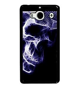 printtech Skull Artwork Back Case Cover for Xiaomi Redmi 2S::Xiaomi Redmi 2::Xiaomi Redmi 2 Prime