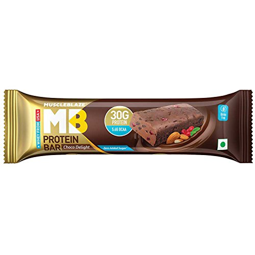 Muscleblaze Hi-Protein Bar 30G Protein - Chocolate Delight (Pack Of 6)