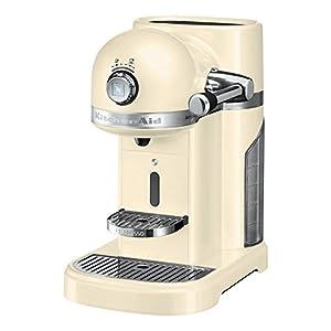 KitchenAid Artisan Nespresso Coffee Machine - Almond Cream - 5KES0503BAC/1
