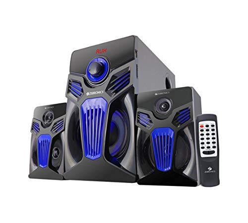Compium Zebronics Fantasy Plastic BT-RUCF 2.1 Multimedia Speaker (Black)