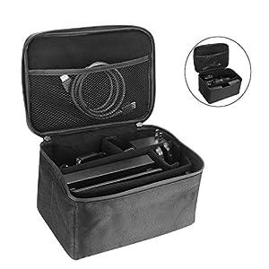 Lifeasy Tasche für Nintendo Switch / Kamera Zubehör – Wasserdichte Hüfttasche mit organischem Klettverschluss und verstellbarem Tragegurt