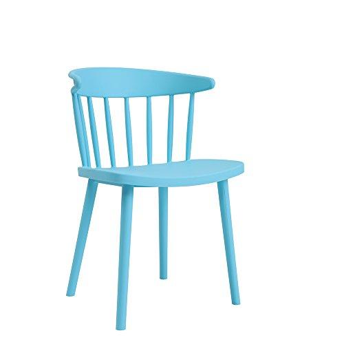QFFL Chaise à Manger Chaise Bureau pour discuter des chaises en Tissu Occasionnels Chaise d'accueil 7 Couleur en Option 78 * 50 cm Tabouret d'extérieur (Couleur : D)