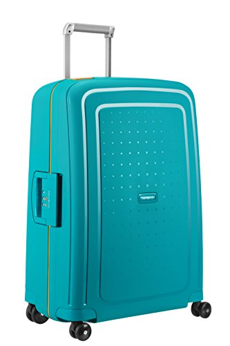 SAMSONITE S'Cure - Spinner 69/25 Bagage cabine, 69 cm, 79 liters,  (Caribbean Bleu/pineapp.yellow)