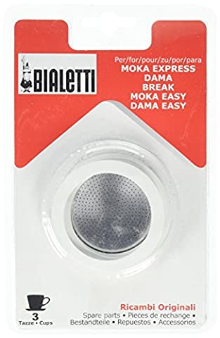 La Cafetiere Bialetti Washer and Filter Set